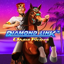 Oasis Riches Diamond Link Slot Machine